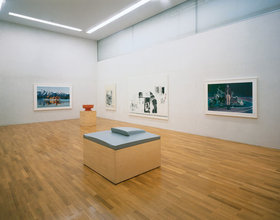 Installation view Richard Prince, Goetz Collection, photo Wilfried Petzi