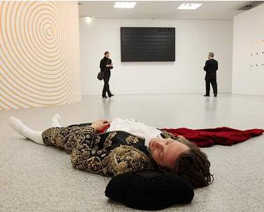 Pierre Joseph, Le toréador mort, Performance, Image